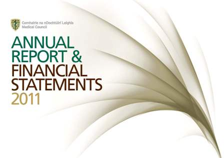 medical council annual report financial statements 2011